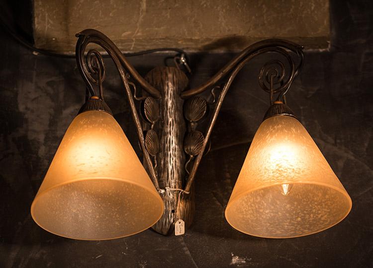 Lampade Coppia di applique