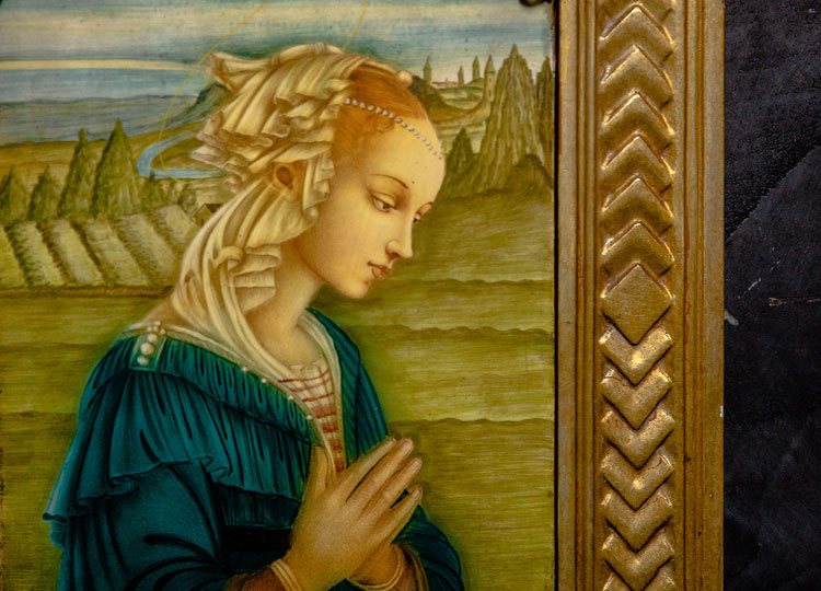 Maioliche Vergine delle Rocce
