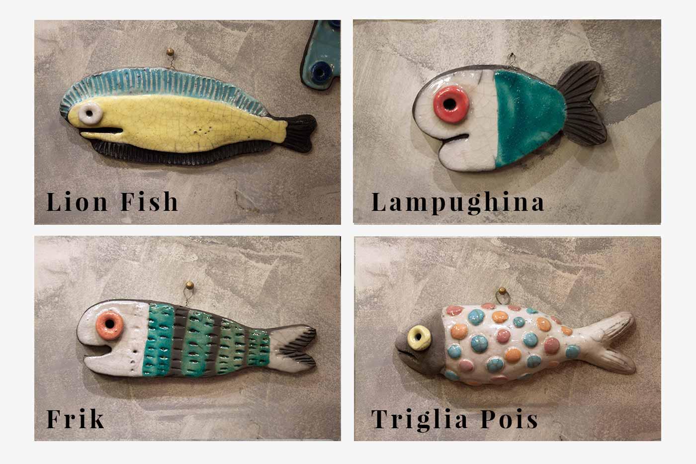 """Collezione """"Fishes"""""""