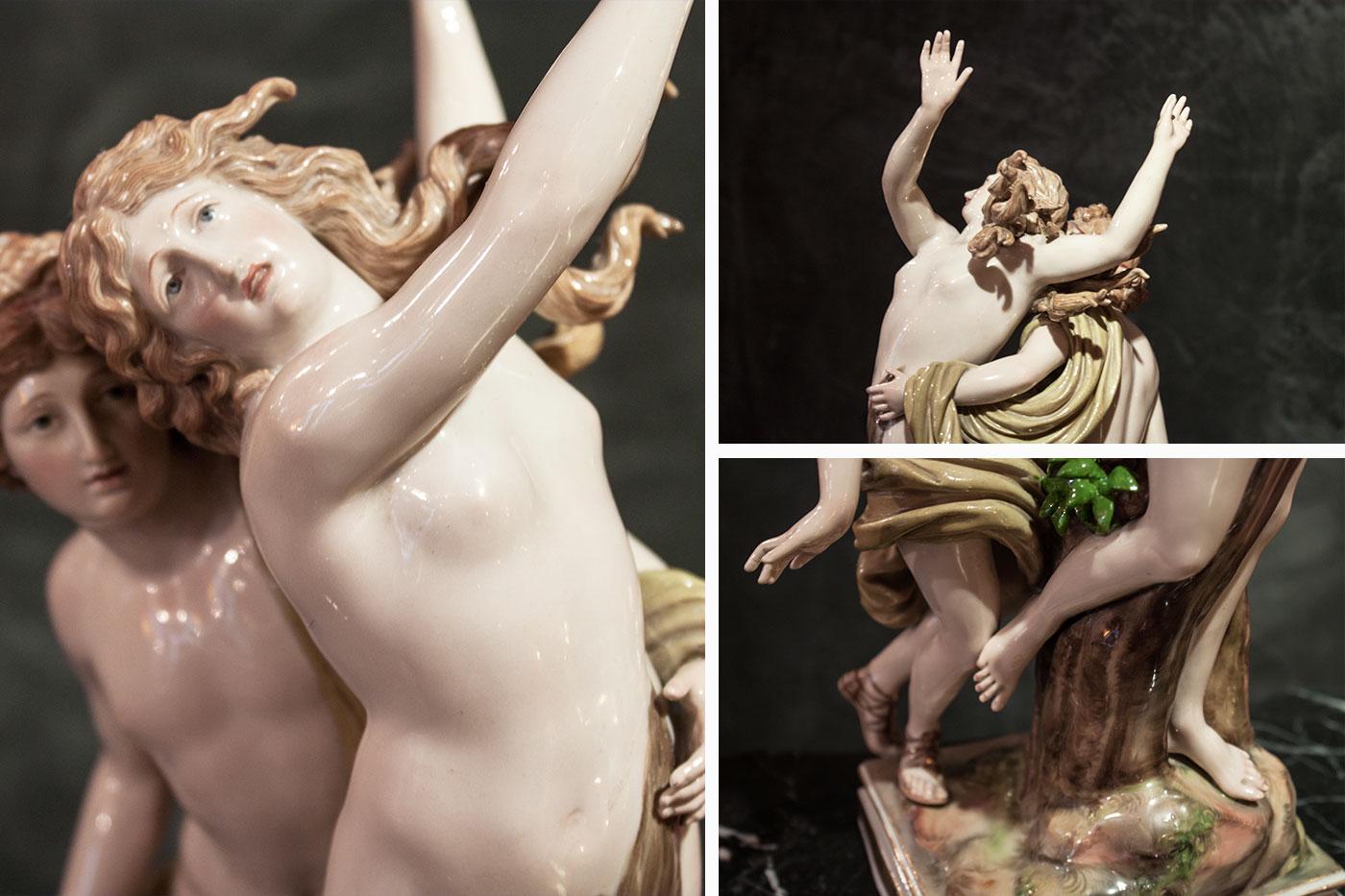Porcellana Apollon et Daphné