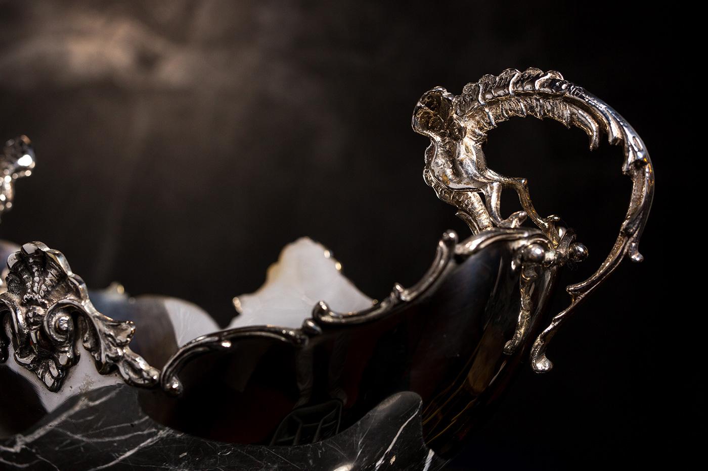 Argento e Metalli Fruttiera